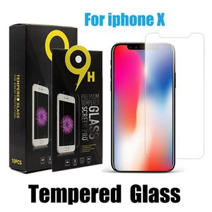Wholesale For iPhone XS Max inch XR Tempered Glass iPhone Screen Protector For iPhone Plus H With Paper Package
