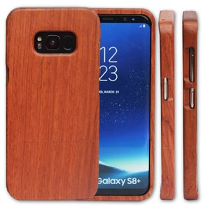 Wholesale Lowest Price Wood Case For Samsung Galaxy S8 S9 plus S7 S6 edge Unique Customized Wooden Bamboo Mobile Phone Cover For iphone plus X