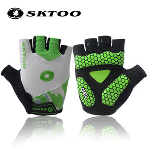 Tour De France Gel Cycling Gloves Half Finger Antil-skip Bicycle Gloves MTB Mountain Bike Shockproof Short Gloves For Men women
