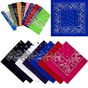 Wholesale New Scarf Headband Bandana Head wrap Cotton Head Wrap Neck Wristband Handkerchief Black White Pink