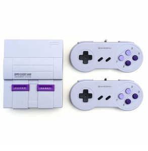 Super Classic SFC TV Handheld Mini Game Consoles 2018 Newest Entertainment System For 660 SFC NES SNES Games Console Drop Free Shipping