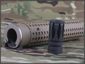 BD KAC Style QD Muzzle with QD Flash Hider kit Toy's model DE BK