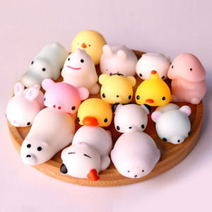 Wholesale Mochi Squishy Stress Toys Relief Animal Squishies Mini Hand Squeeze Squishes Decompression Toy Nipple Dick Cock Female Masturbation Doll