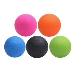 Wholesale lacrosse balls resale online - TPE Lacrosse Ball Sports Yoga Muscle Relax Fatigue Roller Fitness Massage