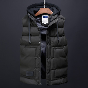 Wholesale Men Winter Coat Fashion Vest Mens Clothing Korean Streetwear Male Trench Coat Down Jackets Designer Dress Casual Vests for Men