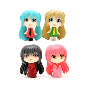Japan Anime Hatsune Miku Figure PVC Action Figure Juguetes Desktop Decoration Crafts Collectible Brinquedos Cute Kids Toys