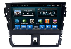 Wholesale A9Quad Core quot Android Car Radio Car DVD Player for Toyota Yaris Vios With GB RAM Radio GPS WIFI Bluetooth USB