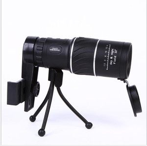 Wholesale New X52 twill low light visual single tube photo taking HD mobile telescopes