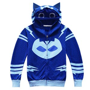 Wholesale 2018 Role playin Selling PJ mask hero of children cosplay costume and PJ Masks cosplay costume and birthday party Fast delivery