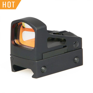PPT RMS Mini Red Dot Sight With Vented Mount and Spacers For Outdoor Hunting Free Shipping CL2-0114
