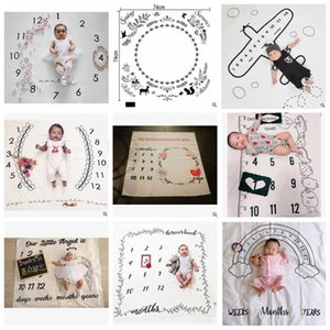 Wholesale Baby Blankets INS Infant Swaddle Newborn Wrap Toddler Swaddling Nursery Bedding Easter Photo Prop Photography Backdrops cm YL304