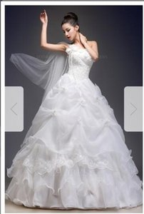 Wholesale Ball Gown One Shoulder Floor-length Tulle prom Plus size33