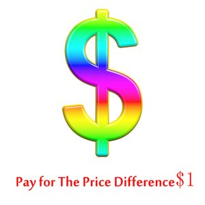 Pay For The Price Difference $1,Will Send The Color, Size And Style According To Your Requirements.