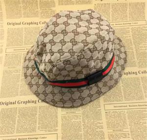 3842e0fbae4b41 Fashion Designer Leather Letter Bucket Hat For Mens Womens Foldable Caps  Black Fisherman Beach Sun Visor Sale Folding Man Bowler Cap
