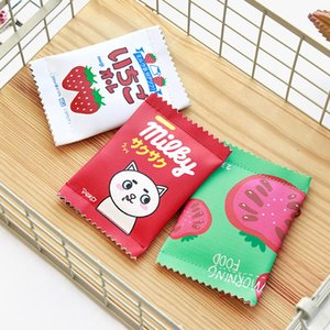 Wholesale 2018 Hot Cute snacks coin purse mini wallet imitation fun cookies hand bag mini simple coin bag creative storage bag
