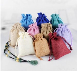 Wholesale High quality New cm Fabric Drawstring bags Candy Jewelry Gift Pouches package bags
