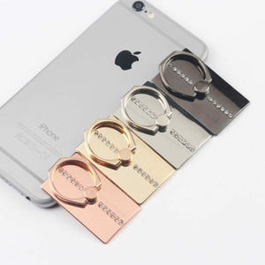 Wholesale Universal Degree Crystal Finger Ring Holder Phone Stand Phone Holder For Samsung Huawei Mobile Phones