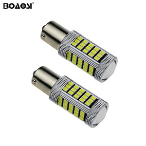 No error P21W BA15S 1156 Canbus 66 LED Bulbs 2835 SMD Rear turn signal light Reversing Lights car Light Sourcing