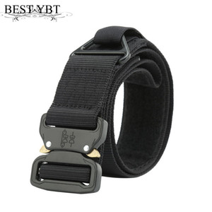 Wholesale Best YBT Unisex belt Quick release Alloy Insert buckle Multifunction Men belt high quality Nylon Men and Women sport