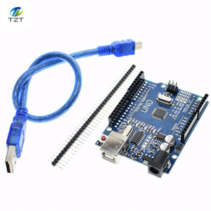 1set UNO R3 MEGA328P CH340 CH340G for Arduino UNO R3 + USB CABLE