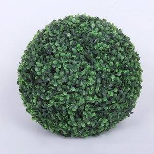 Wholesale 50cm Diameter Artificial Plant Plastic Grass Ball for Indoor Outdoor Wedding Party Decoration W7190