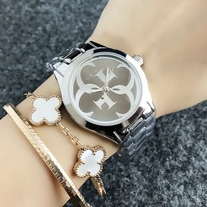 Wholesale Fashion Brand women s Girl Big G style dial steel metal band quartz watch GS8302