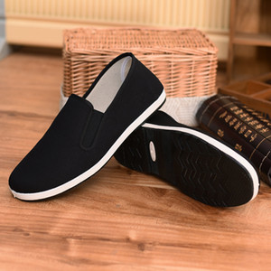 Wholesale factory direct sale unisex clothing shoes women and man kung fu shoes traditional china tai chi shoese