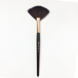 Wholesale badger makeup brushes for sale - Group buy My Destiny Pro Fan Brush Badger Hair Expertly Finish Powder Brush Quality Makeup Brushes Blender Applicator