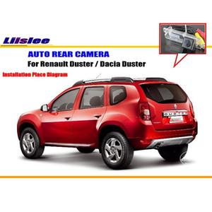 wholesale Car Rear View Camera For Renault Duster   Dacia Duster   Reverse Camera   License Plate Lamp OEM NTST PAL Color TV
