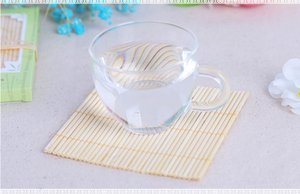 Wholesale Natural Bamboo Coasters Cup Mat Table Placemat Wedding Favors And Gift Party Souvenir Giveaway For Guest
