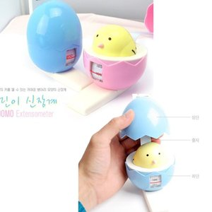 Wholesale Egg Shape Lovely Children Height Measure Tape Wall Mounted Growth Stature Meter Stadiometer Meter Body Tape