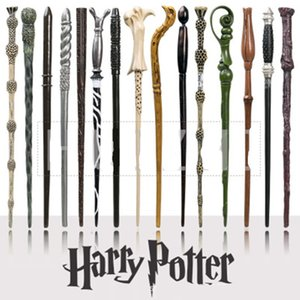 Harry Potter Magic Wand Creative Cosplay 18 Styles Hogwarts Harry Potter Series New Upgrade Resin Non-luminous Magical Wand For Big Kids Toy on Sale