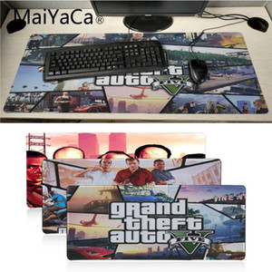 Wholesale MaiYaCa Anime Grand Theft Auto Customized laptop Gaming mouse pad DIY Carpet Top Selling Customized Non Slip Rubber mouse pad