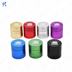 Wholesale NEW Cali Crusher Grinders mm mm Aircraft Aluminum Herb Grinder Layers Provide Best Touch And Texture VS Lighting Grinder