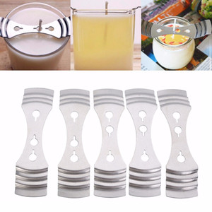 Metal Candle Wicks Holder Centering Device DIY Candle Making Supplies Tool 5pcs set