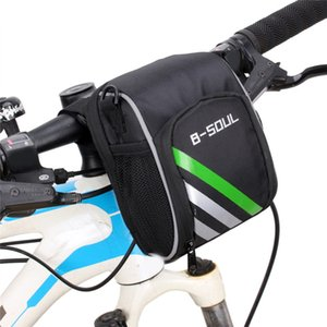 Wholesale Cycling Mountain Bicycle MTB Bike Handlebar Bag Electric Scooter Head Bag Folding Bicycle Front Bar For Outdoor Sports