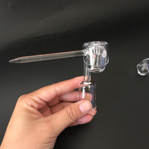 Wholesale quartz club bangers nail for sale - Group buy Quartz Banger Nail Domeless Male Female Joint Fit mm mm mm Coil Heater Club Electric Banger Nail Dab Oil Rigs