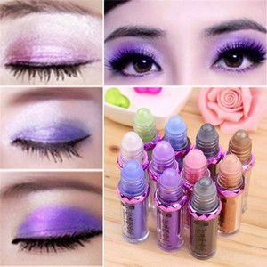 Wholesale best eyeshadow colors resale online - New Sequined Glitter Mineral Eye Shadow Collection Palette Colors Eyeshadow Makeup Mineral Ball Eye Shadow Mix Colors Best Gift