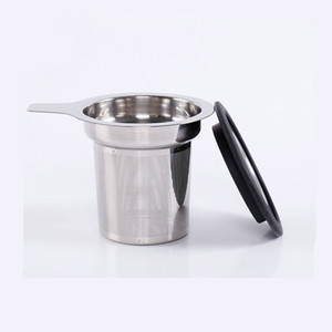 High Quality 304 Stainless Steel Tea Infuser Mesh Strainer with Large Capacity & Perfect Size Tea filter mesh