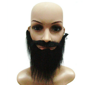 Wholesale Party Gorgeous False Beard Moustache Props Masquerade Halloween New Year Christmas Party Mask Decoration Boda
