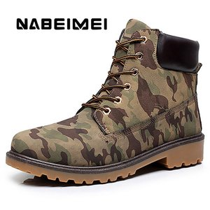 Men boots big size 39-46 waterproof winter boots men martin black militar 2017 fashion rubber shoes for hunting brown