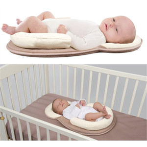 Wholesale Newborn Baby Sleeping Mat Infant Baby Shaping Pillow Newborn Neck Protection Safe Cot Mattress for New Boy Girl Bedding Set