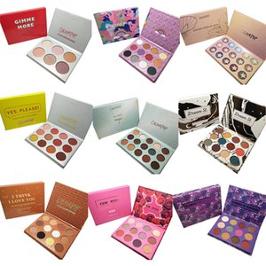 Wholesale In stock Hot New Makeup Fashion Eyeshadow MAR Fame ALL I SEE IS MAGIC GIMME MORE I THINK I LOV Fashion Color Eyeshadow palette epacket