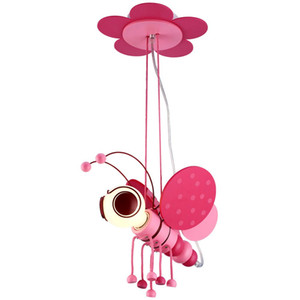 OOVOV Kids Room Cartoon Bee Pendant Lamp Creative Boy Girl Pendant light Baby Room Hanging Lamps