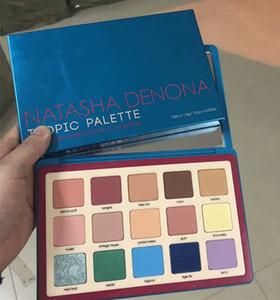 Natasha Denona makeup palette Tropic eyeshadow cosmetics palette eyeshadow palette highlighter for girls 15 colors cheap dropshipping