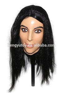 Wholesale Brand New Realistic latex Adult Female mask full head Deluxe Female beauty Sex Mask