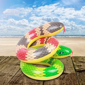 Wholesale Inflatable Snake Ring Pool Float Pool Swimming Float Snake Swimming Ring Circle Boia Piscina Party Inflables Swim Buoy