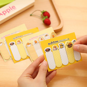 Wholesale 36pcs Lovely Gudetama Stationery Lazy Egg N Times Sticky Notes Memo Pad School Supplies