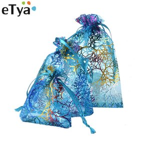 Wholesale eTya Fashion Brand Handmade Drawstring Bag Travel Drawstring Pouch Cosmetic Bag Small Fresh Multifunction Women Jewelry Gift