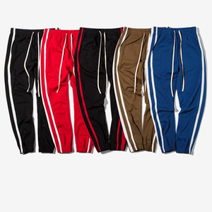 Autumn Dress New Casual Pants Minimalism Stripe Male Style Sports Wear Fashion Designer Running Trousers Hot Sale 48in Ww